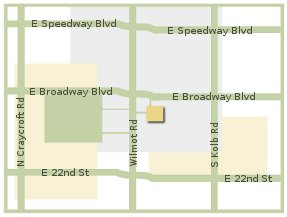 Map of Broadway Park