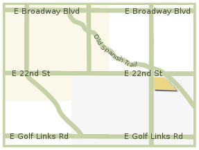 Map of Old Spanish Trail Marketplace