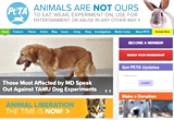 eople For the Ethical Treatment of Animals Site